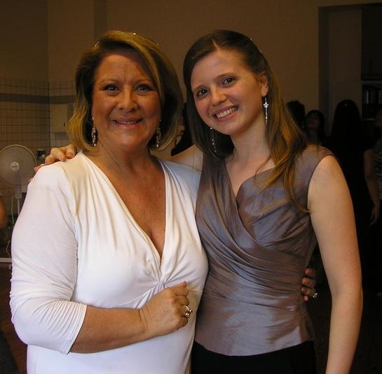 Com a soprano Luciana Serra  Lugano | Julho 2008