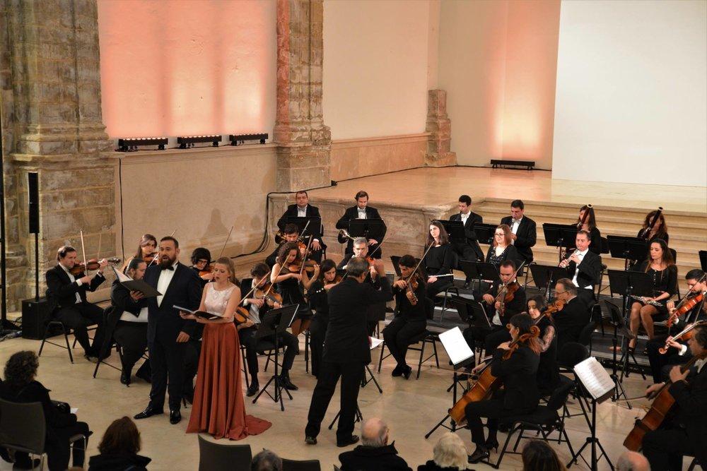 Christmas Concert with OCC,tenor Sérgio Martins and conductor Cesário Costa  Coimbra | December 2017