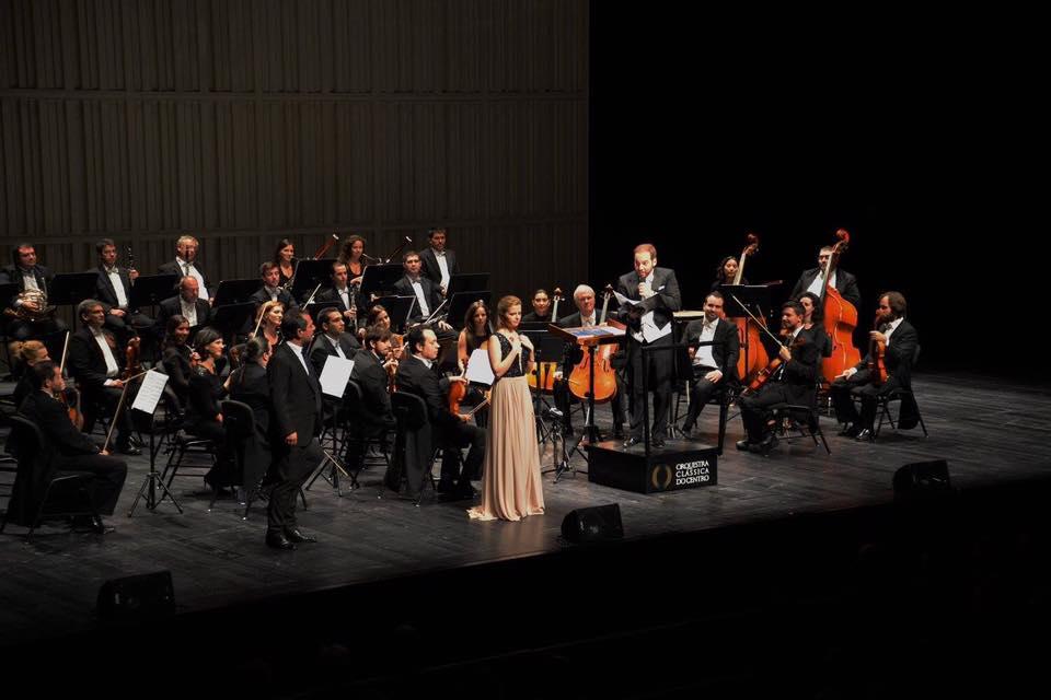 Opera Gala with OCC, baritone José Corvelo and conductor José Eduardo Gomes  Coimbra | October 2016