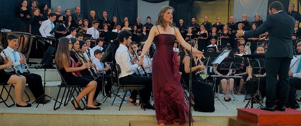 Gala de Ópera e Zarzuela AMPC com o maestro José Eduardo Gomes  Castelo de Paiva | Setembro 2016