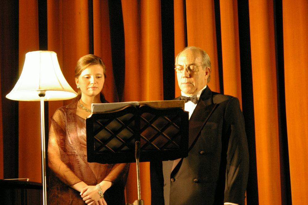 Concerto com o barítono José de Oliveira Lopes  Oliveira de Azeméis | Maio 2008