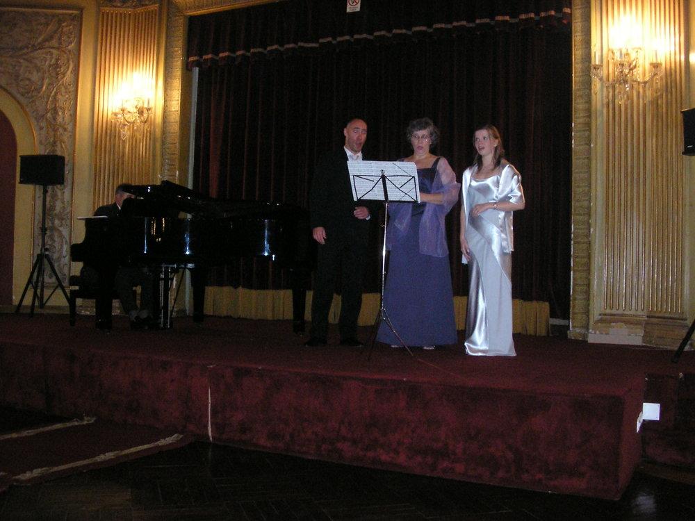 Concert with mezzo-soprano Filomena Santos, baritone Pedro Telles and pianist Jairo Grossi  Porto | June 2008