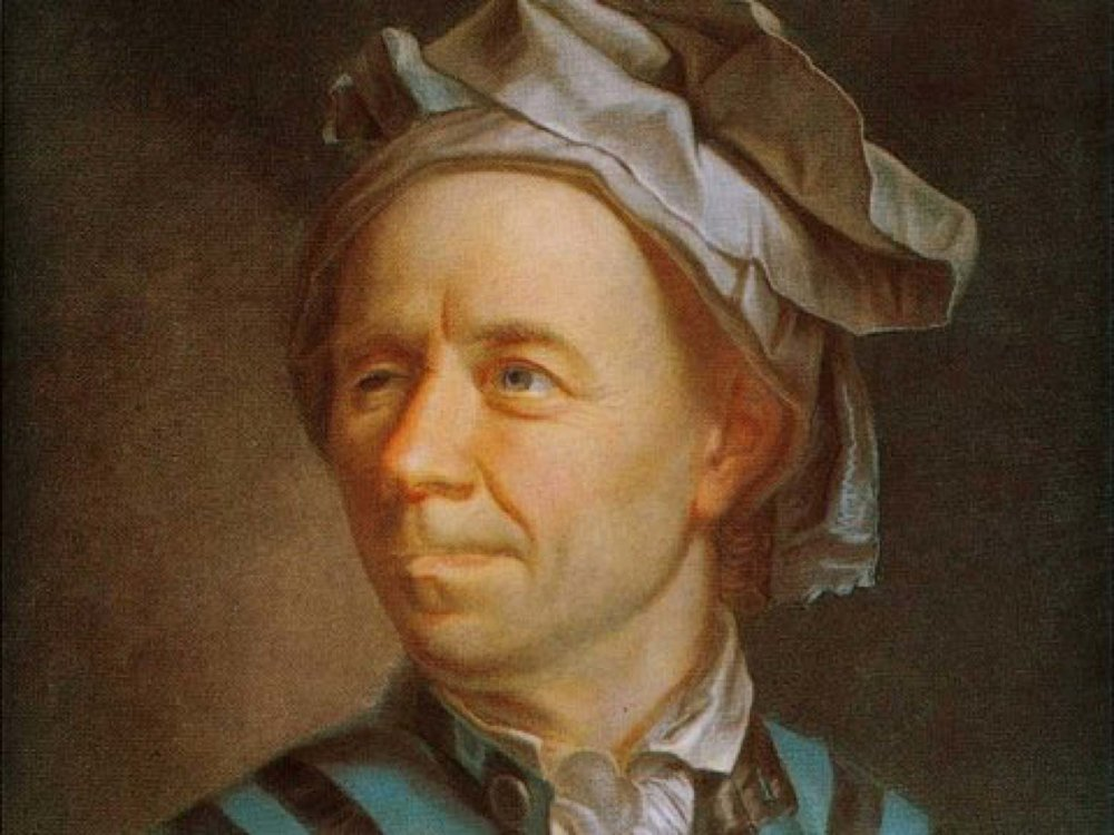A man called Euler, 1707-83.