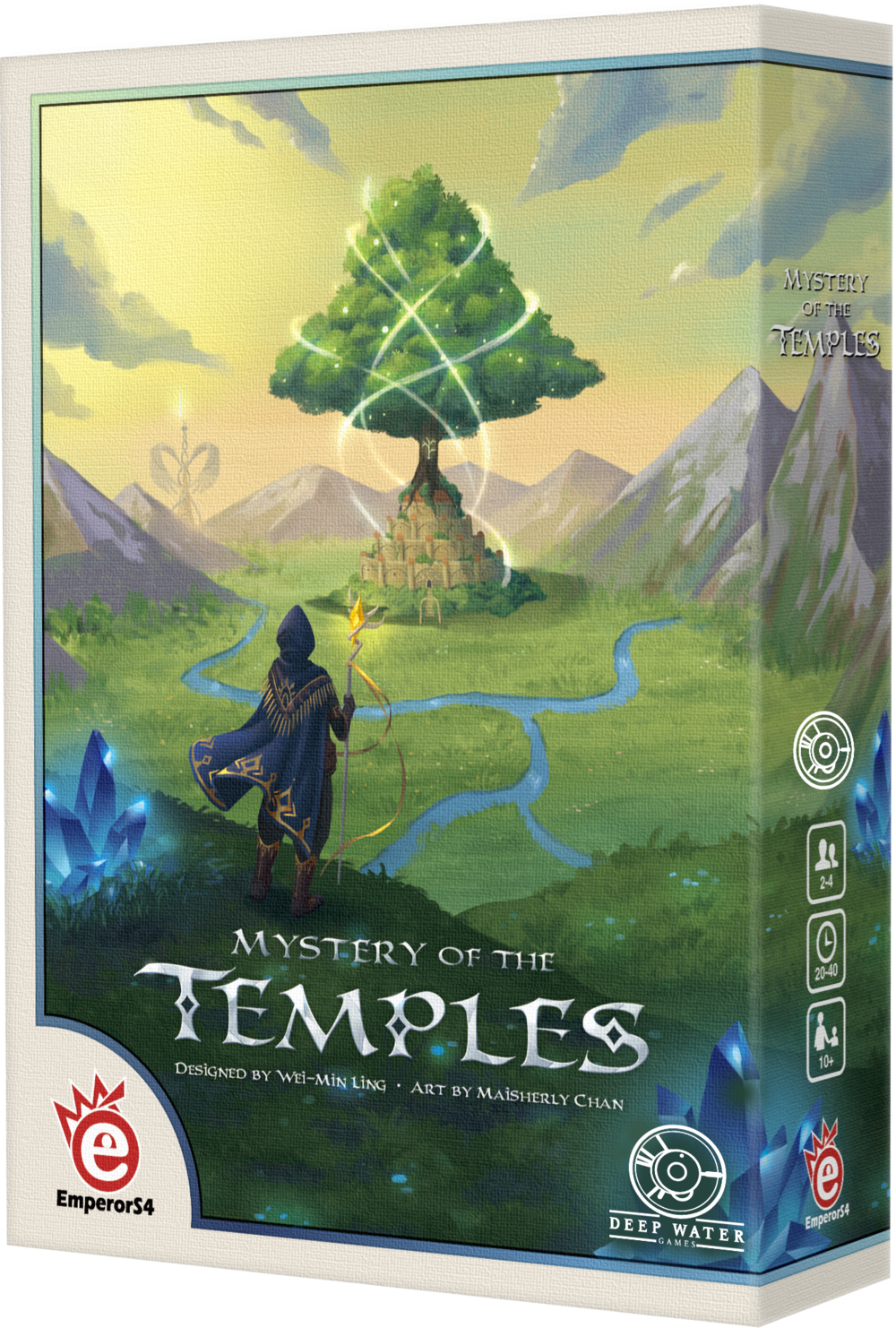 Mystery of the Temples Board Game Box