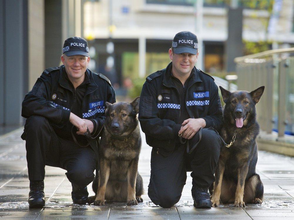 Wikimedia K9 West Midlands Police UK