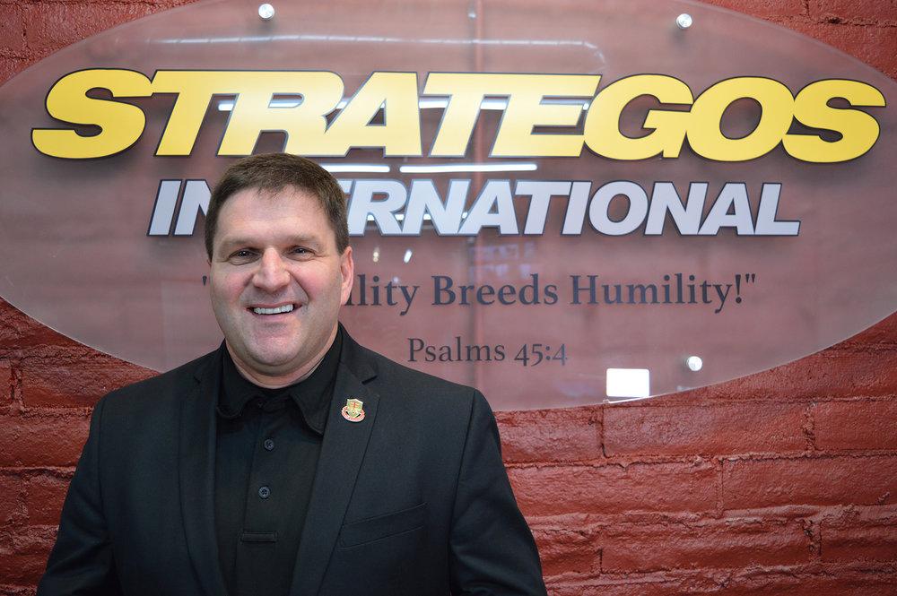 Vaughn Baker is the president of Strategos International.