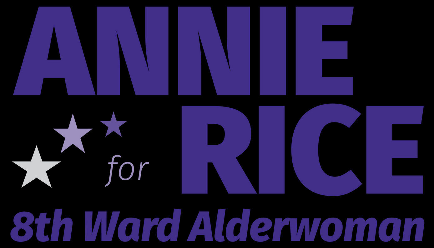 ANNIE RICE 8TH WARD ALDERWOMAN