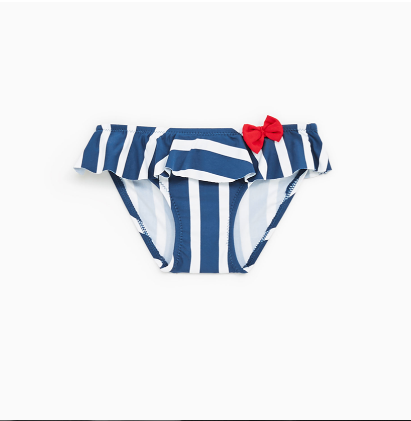 27b1983d7f Zara Stripe Bikini Bottom. bows   arrows ...