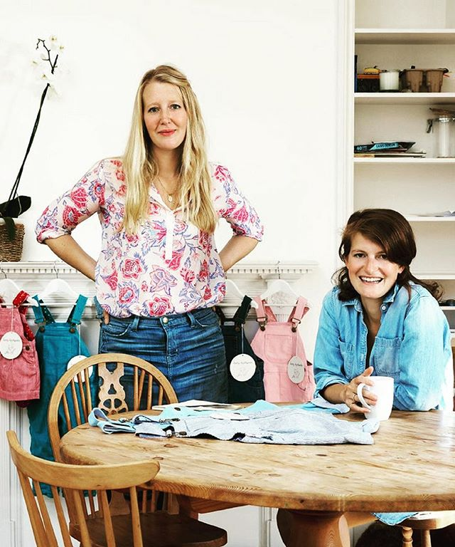 New on the site this week...Talks with...⭐️Alice Goldsmith⭐️ co-founder of Dotty Dungarees. Link in bio 👆🏼 to find out more about how she unwinds, succeeds and her love of Jaffa cakes... @dottydungarees #kidsfashion #foralltheirlittleadventures #babydungarees #letthembelittle 🌈🌈🌈