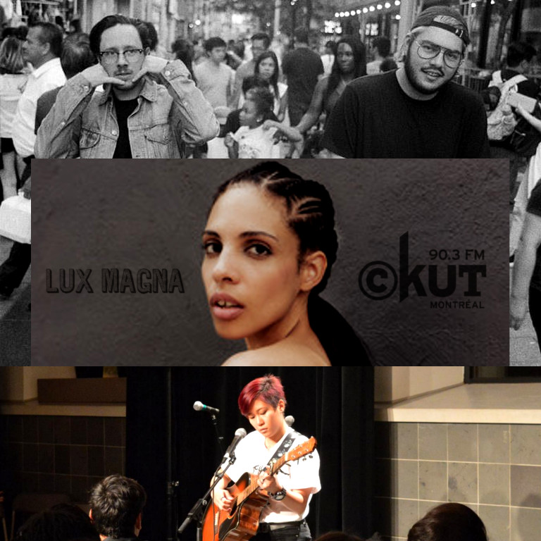 ST x LIAM    ,     Annie Sama    , and     HYRE     today on CKUT 90.3FM; tune in at 3pm!
