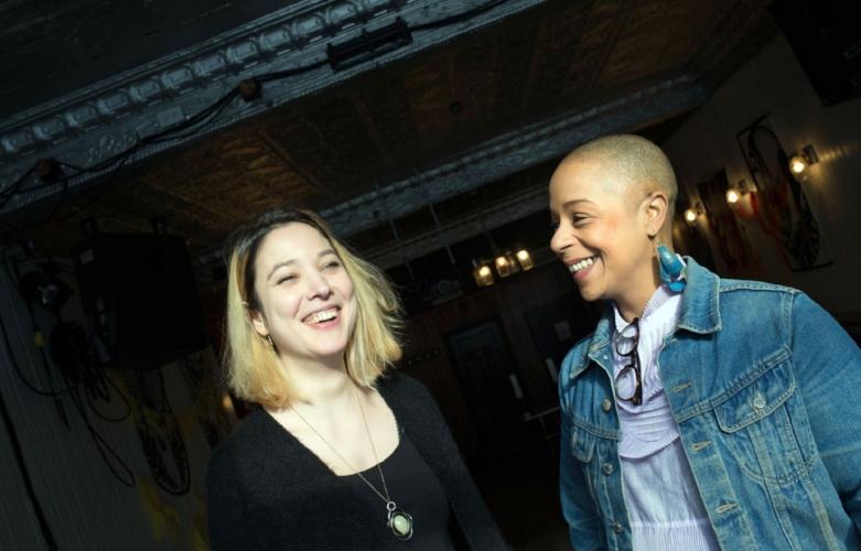 Photo: Annik MH De Carufel Le Devoir  Amélie Malissard et Julie Richard espèrent que leur programmation pleine de diversité va inspirer d'autres programmateurs.