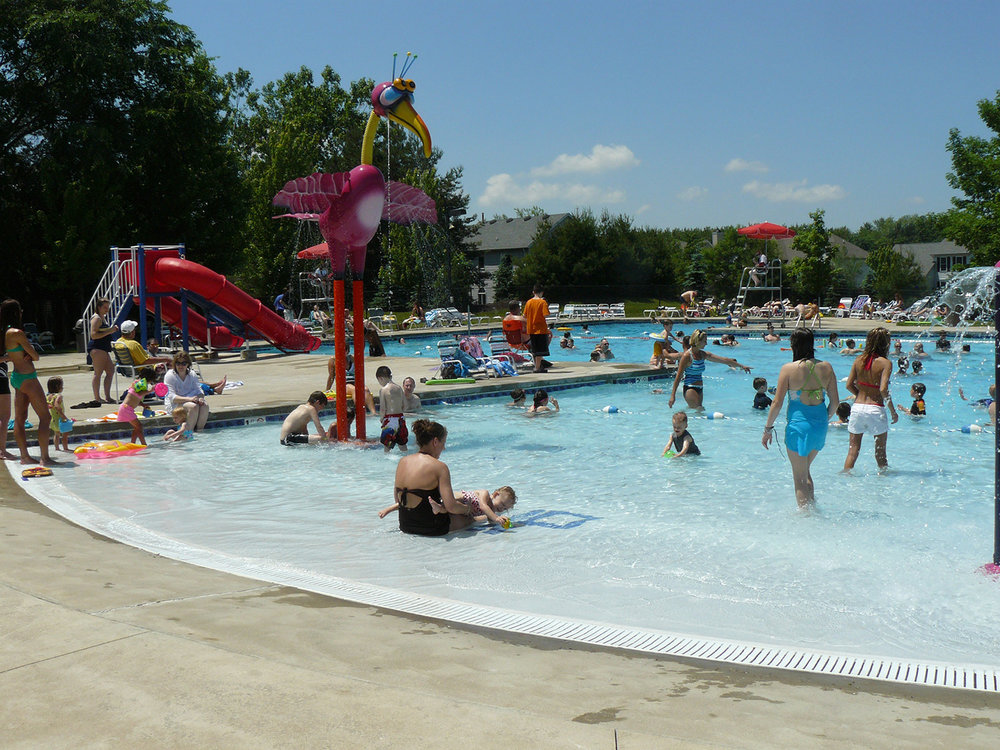 In 2006 the association replaced the interior pool surface with DiamondBrite, a new and longer-lasting finish. All ceramic tiles, the main pump  and lifeguard chairs were also replaced as part of the renovation and capital improvement project.