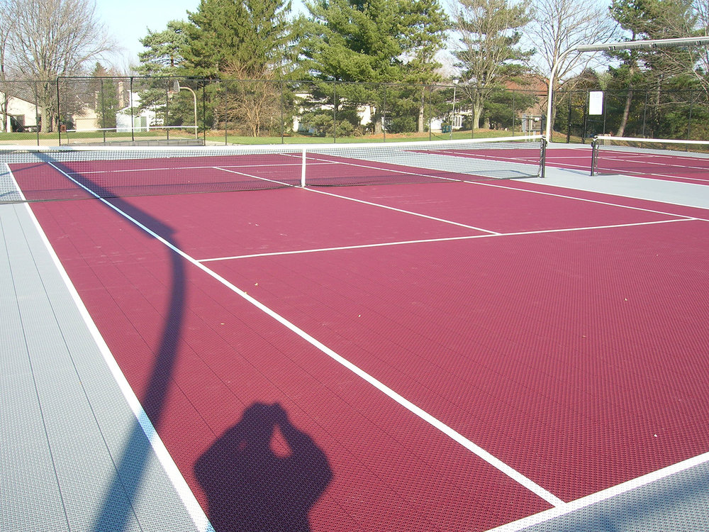 Twin lighted tennis courts are available to residents in the recreation area. A new synthetic surface (VersaCourt) was installed for 2010. Highly rated by US and International Tennis Associations, this surface dries quickly and is easy on joints.