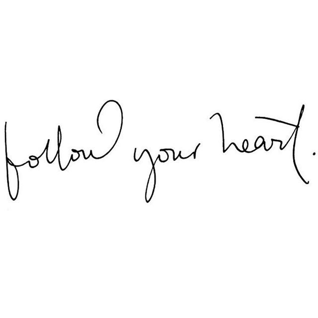 Always ♡ And if your not sure what your heart is saying then take the time to be still. @babestalkingbusiness 🙌🏻