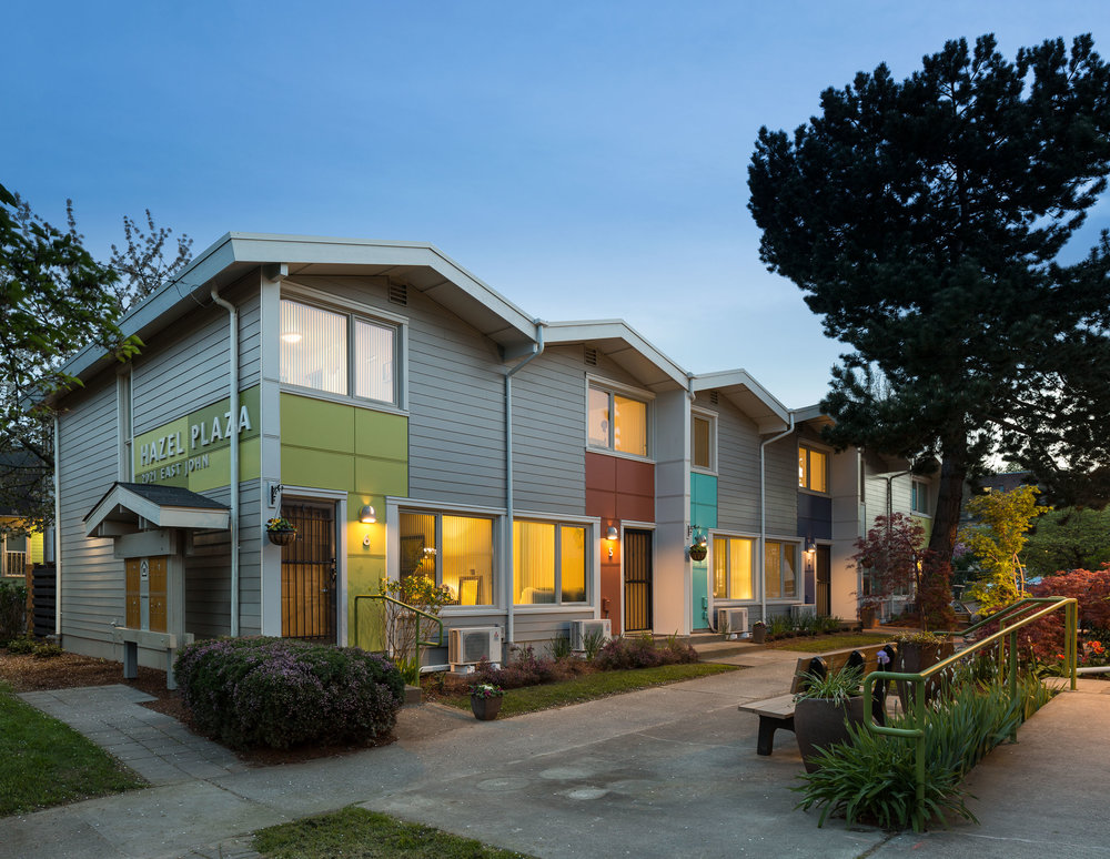 - Client: Capitol Hill HousingLocation: Seattle, WashingtonCompletion: 2015Project Size: 16 Units, 11,754 SF
