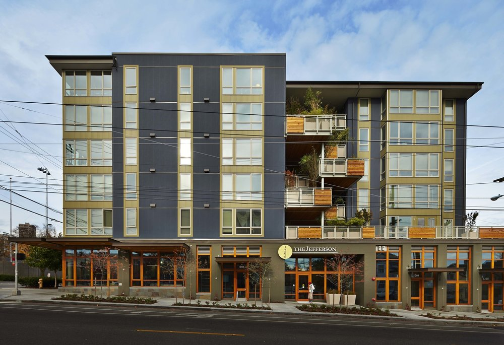 - Client: Capitol Hill HousingLocation: Seattle, WACompletion: 2012Project Size: 40 Units, Street Level Retail, Basement Parking, 48,000 SF,