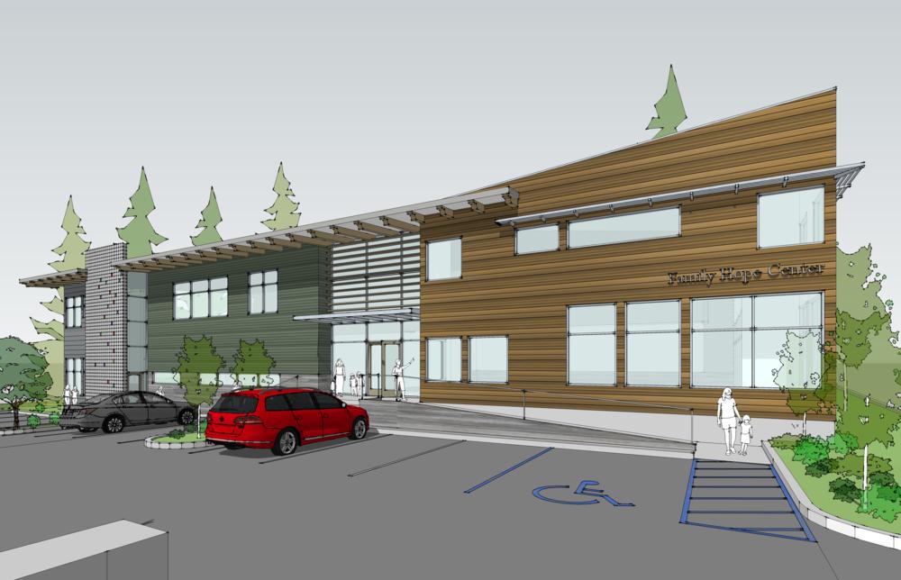 - Client: Vine Maple PlaceLocation: Maple Valley, WashingtonCompletion: est. 2018Project Size: 15,000 SF