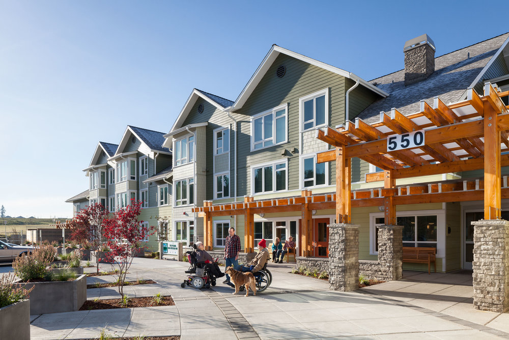 - Client: American Baptist Homes of the WestLocation: Bremerton, WashingtonCompletion: 2014Project Size: 81 Units, Common Areas, Offices; 75,900 SF