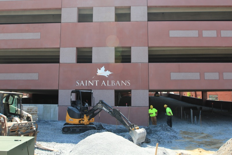City of St. Albans Parking Garage
