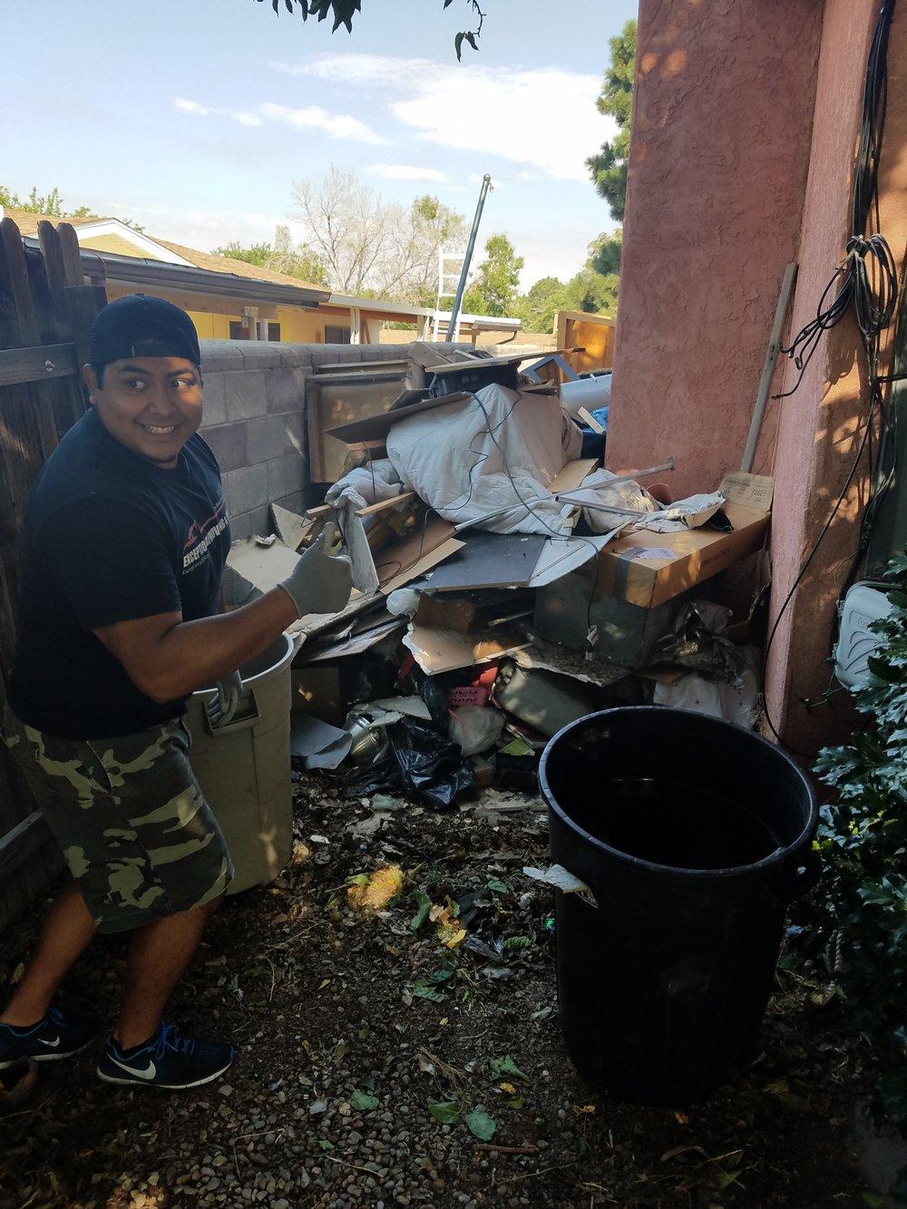 Trash Hauling Santa Fe