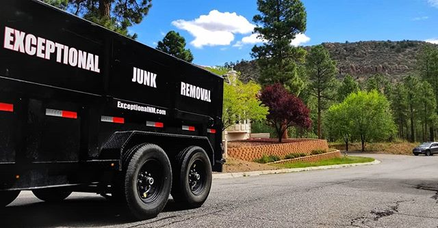 Beautiful day to tidy up your home and throw out what you haven't used in years.  Exceptionaljunk.com  #santafe #losalamos #junkremoval #beautiful_world #summer #trees #cleanout #newmexico