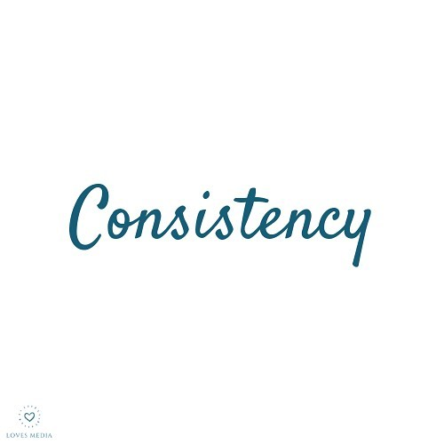 Be consistently present.  Consistently honest.  Consistently humble.  Consistently grateful.  Consistently kind.  Consistently patient. Consistently intentional.  Be the best version of yourself, consistently..