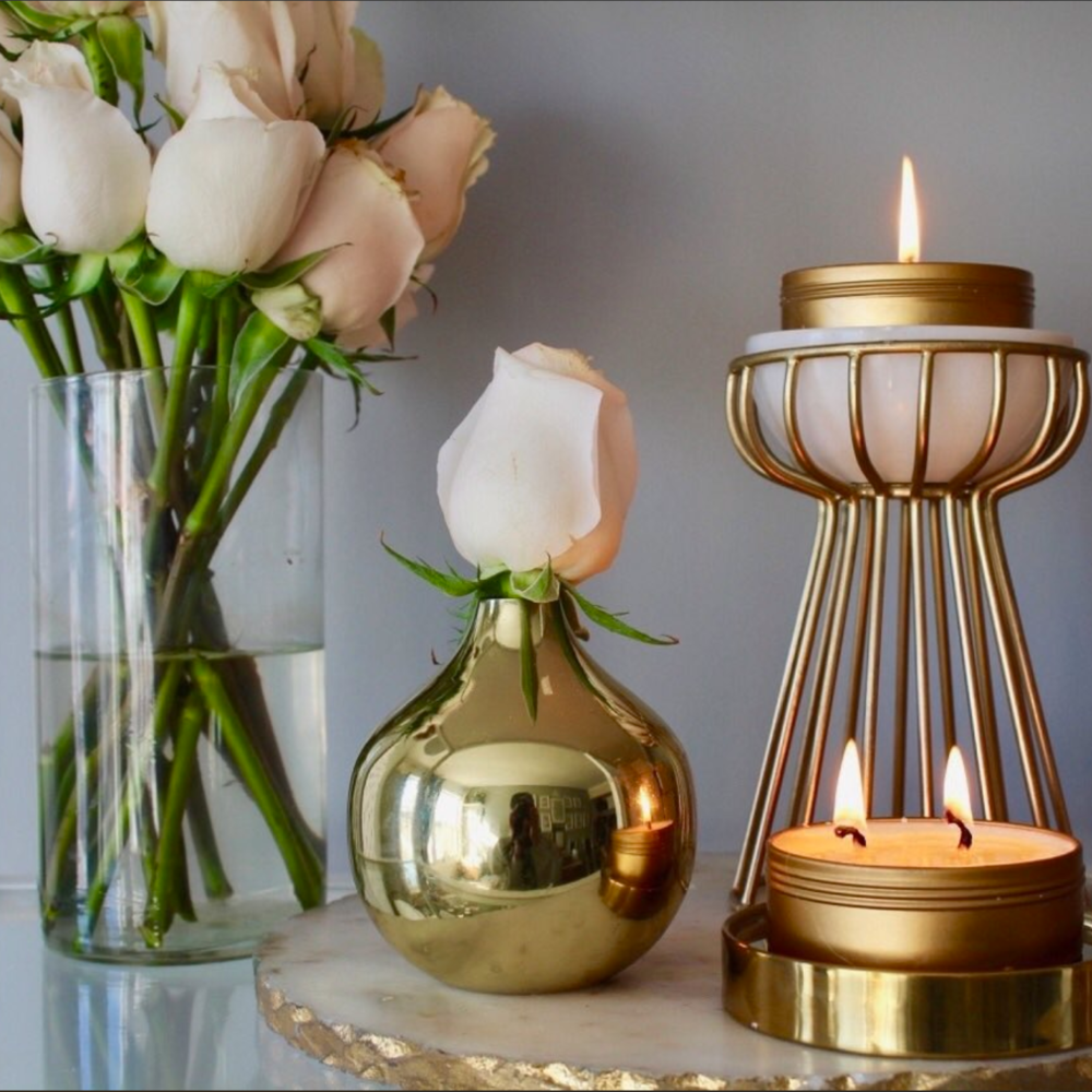 Set the mood. - Lit Brooklyn's hand-poured soy candles are a perfect way to set your ambience at home or on the road.