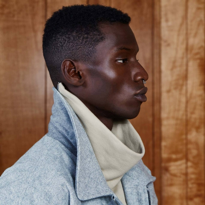 WORN BY CHADWICK BOSEMAN AND SEVERAL OTHER CELEBRITIES AT A NEW YORK FASHION WEEK SHOWCASE, FEAR OF GOD WAS INSPIRED BY DESIGNER JERRY LORENZO'S SPIRITUAL UPBRINGING. AND IT'S EPIC.