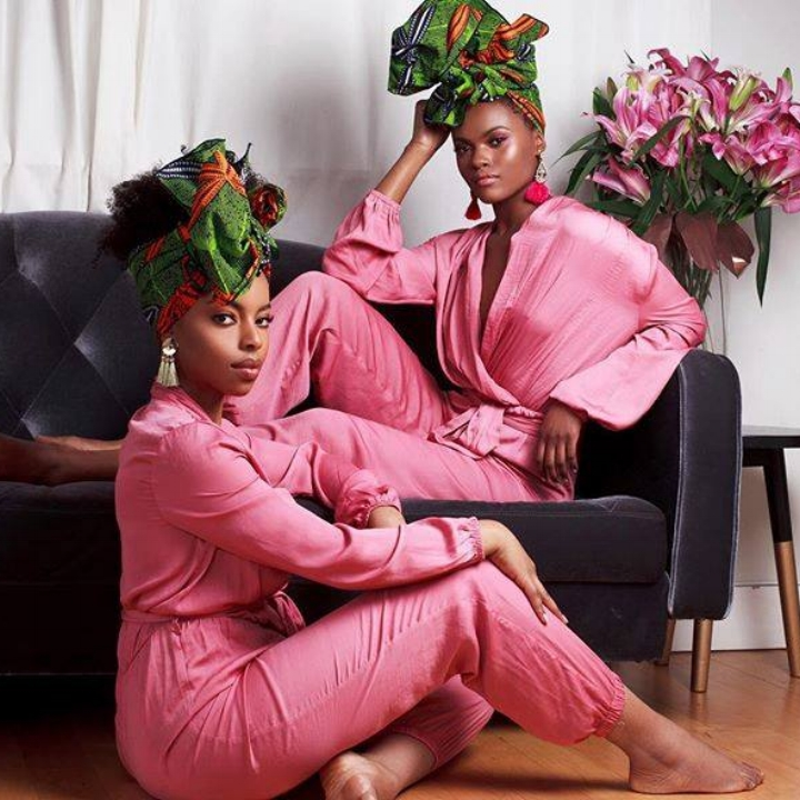 THE HEAD WRAPS AND ACCESSORIES FOUND AT CEE CEE'S CLOSET ARE DESIGNED BY CHIOMA AND UCHENNA NGWUDO AND HANDMADE BY NIGERIAN ARTISANS.