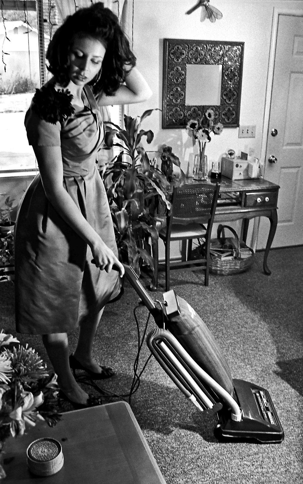 Vacuuming 1