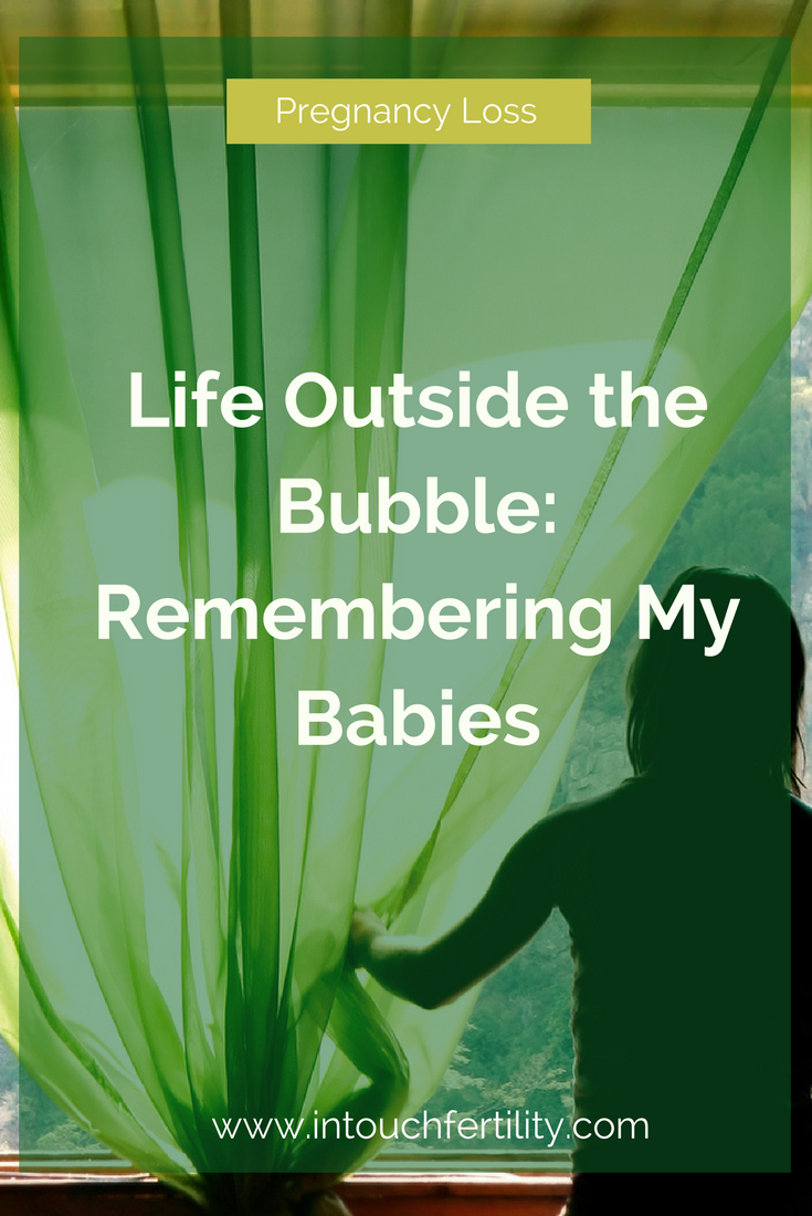 Experiencing pregnancy loss can change you forever.  My experience of losing 4 babies is very common.