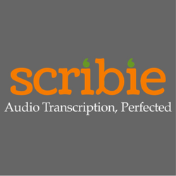 - Scribie offers audio and video transcription services at excellent rates and with professional service. Their accuracy is terrific.