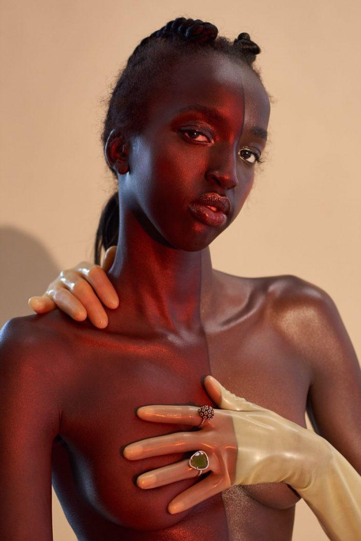 FGUK Magazine. Photography by Andrew Gough. Hair by Darren Agyei-Dua