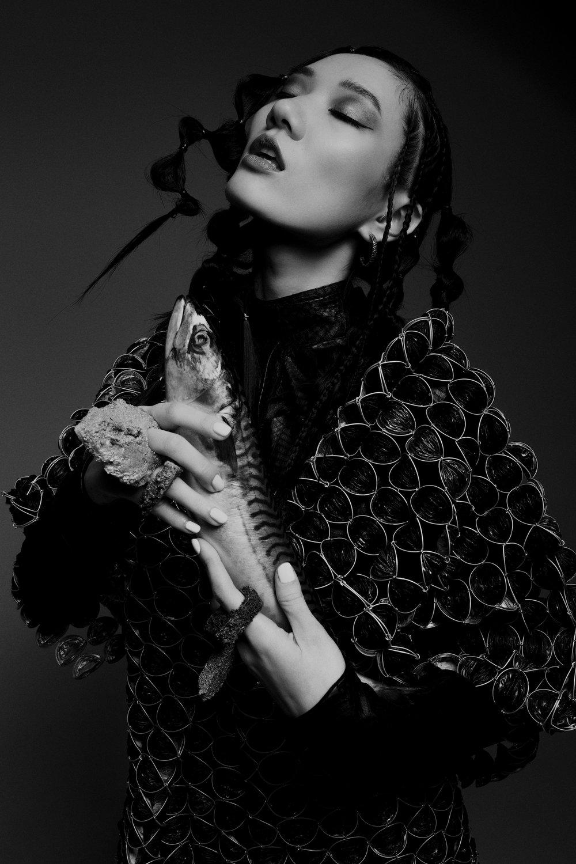 Feroce Magazine. Photography by Stoney Darkstone. Hair by Kristine Cimbule
