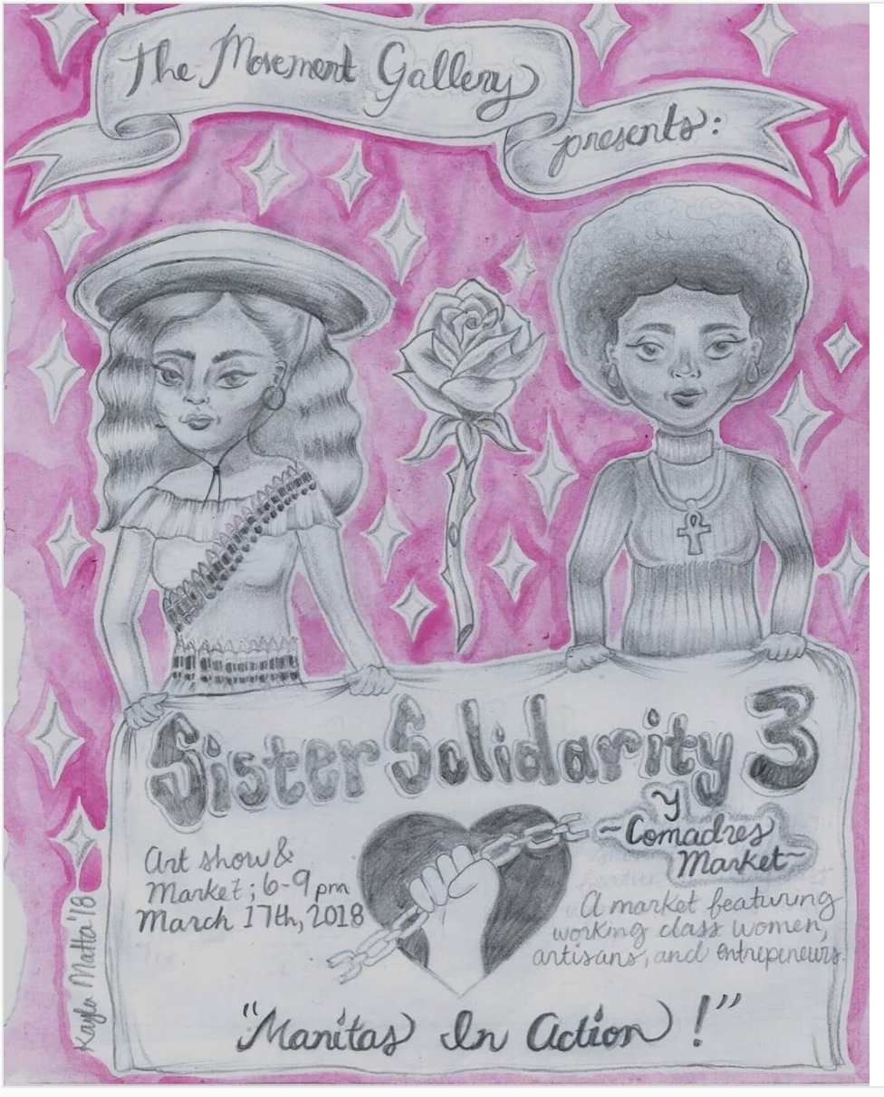 "themovementgallery on Instagram: ""We are gearing up and getting ready for next week's Sister Solidarity: Manitas in Action. We … 2018-03-06 13-28-15.png"
