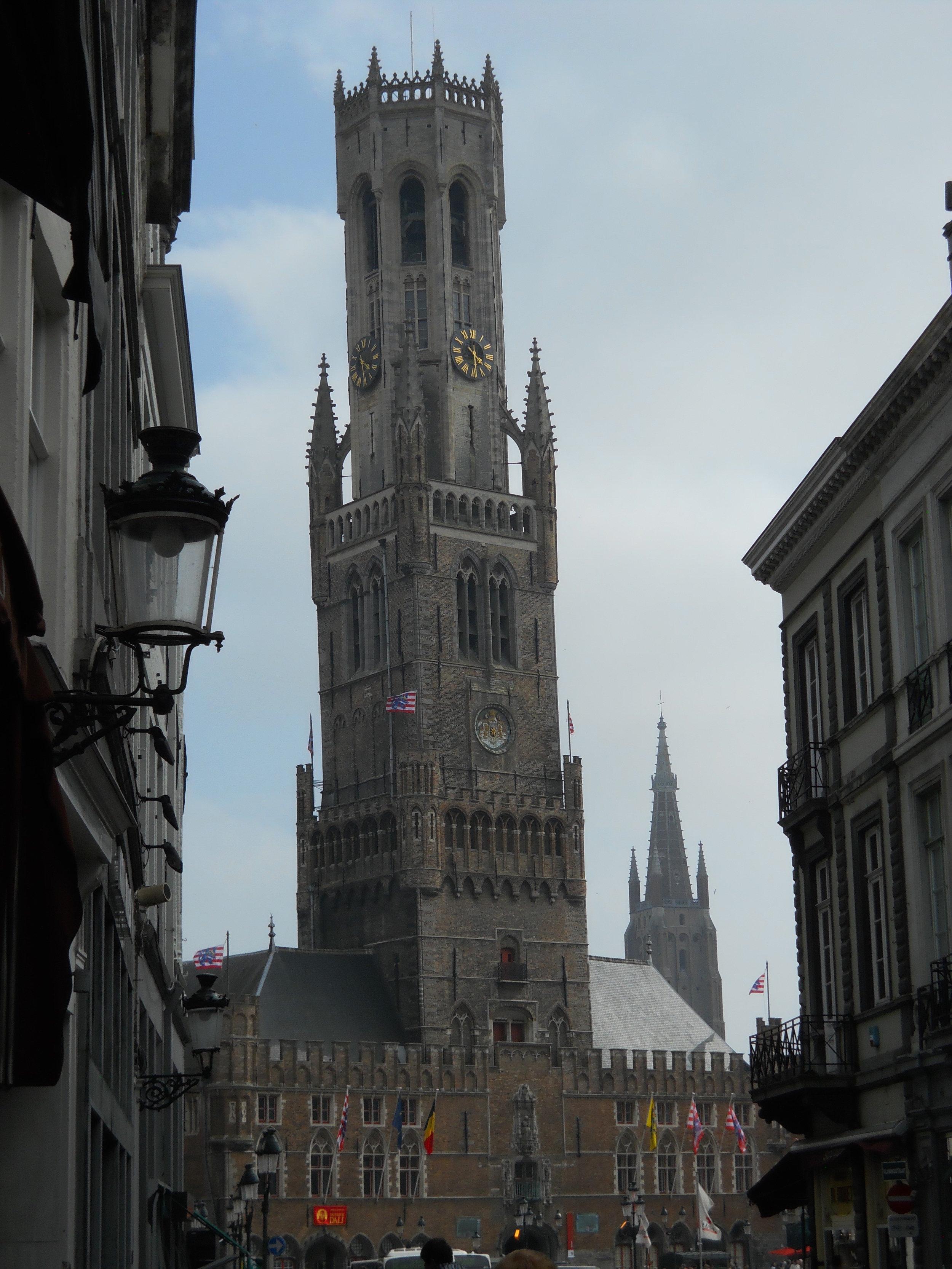 Belfort in Brugge, Belgium