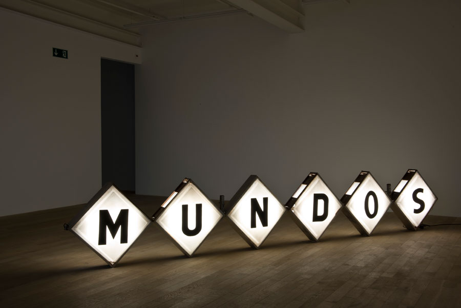 Mundos, Teresa Margolles at the MAC, Montreal.