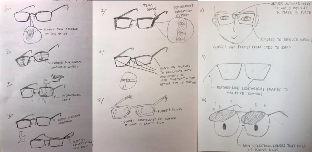 10 Idea Sketches