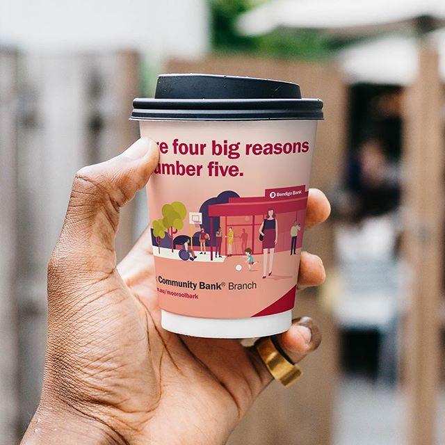When the latest campaign reaches peak caffeine. ☕️