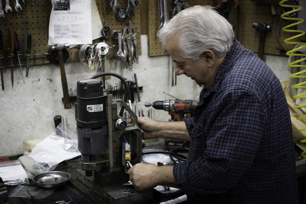 John, Air & Electric Mechanic