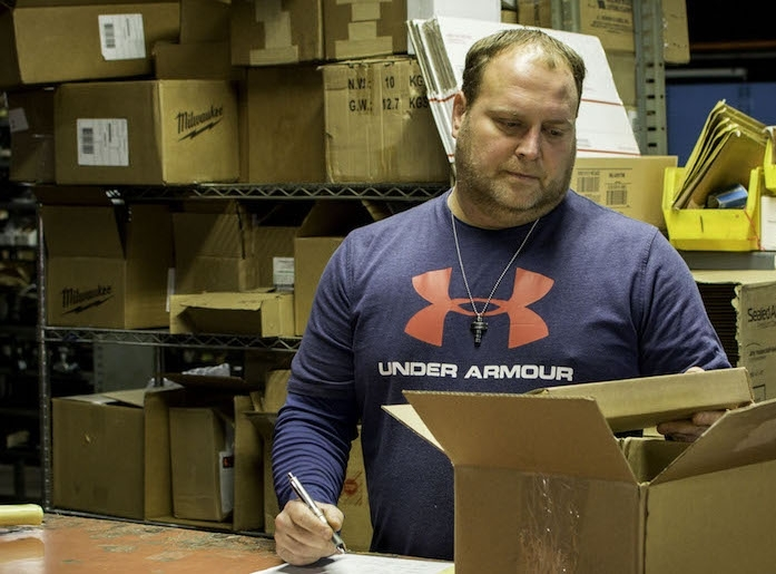 Scott, Shipping & Receiving Associate