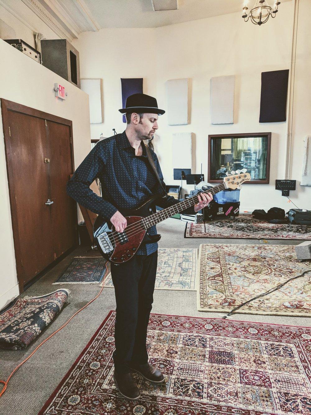 Jordan of Sharlet Crooks playing at the Hallowed Halls