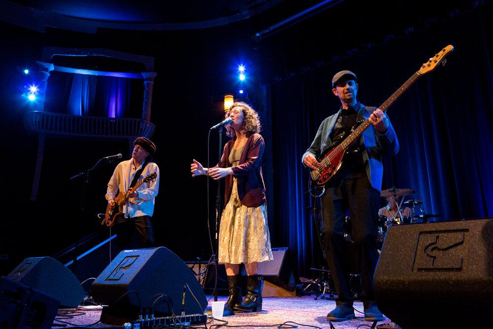 Sharlet Crooks performing live
