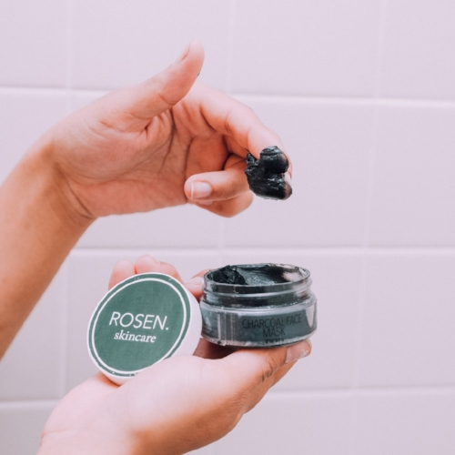rosen skincare - Self care and face masks seem to always be spoken in the same sentence. Activated Charcoal and Tea Tree Oil power up and abolish your blackheads, oily skin and clogged pores. This clean and minimal face mask is going to have your skin smooth and detoxed almost immediately. A mini spa in a jar perfect to wash away all the stresses from the day.