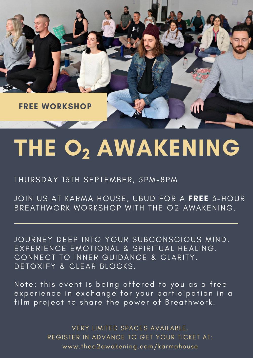 The O2 Awakening X Karma House
