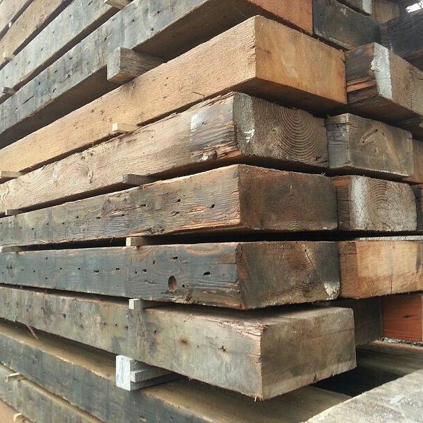 Salvaged Fir Timbers