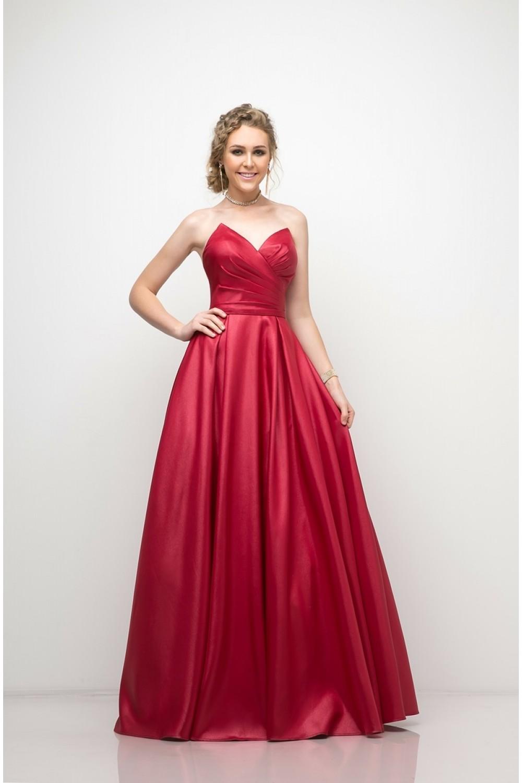 Satin Ball Gown — K. Jade