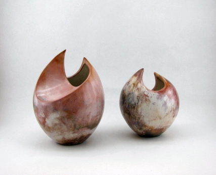 pair of fume fired asymetric pots.jpg