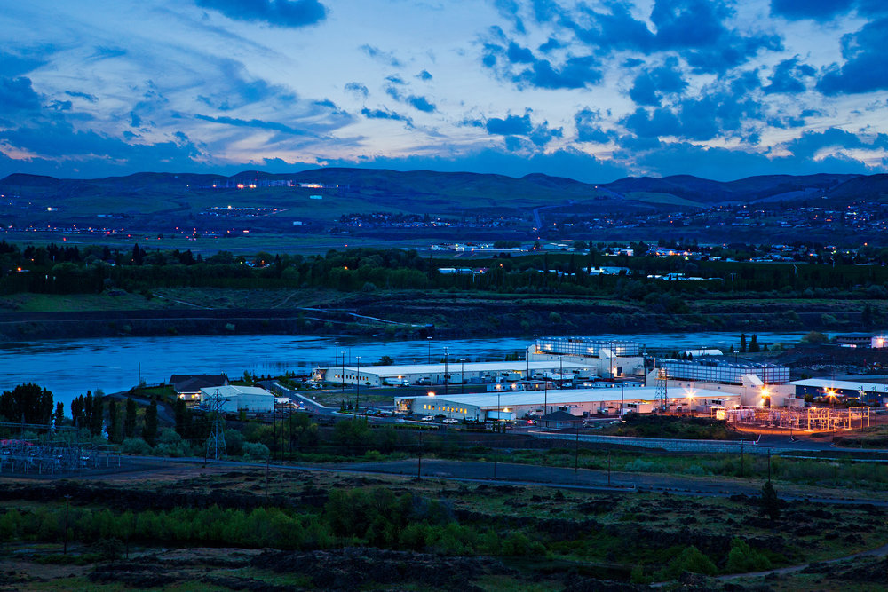 One of Googles data centers in The Dalles, Oregon