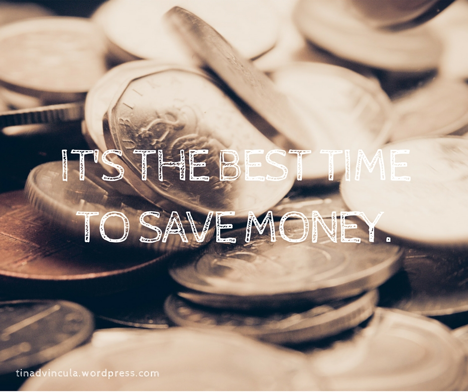It's the best time to save money.